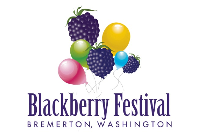 8/31, 9/1, 9/2, 2019 - 30th Annual Bremerton Blackberry Festival